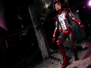 """Escena de la película """"Iron Man 3"""""""