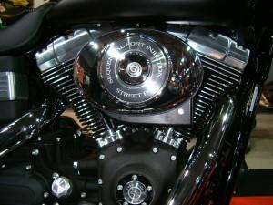 Motor de una Harley-Davidson