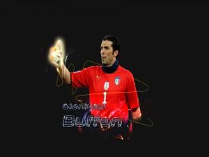 El portero Gianluigi Buffon