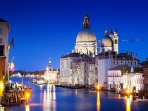 Gran Canal de Venecia (Italia)