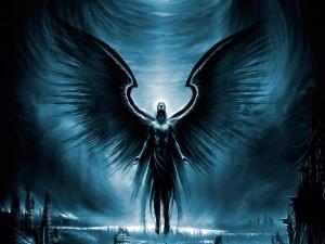 Ángel subiendo al cielo