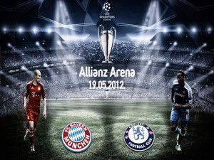 Final Champions League Bayern vs Chelsea (2012)