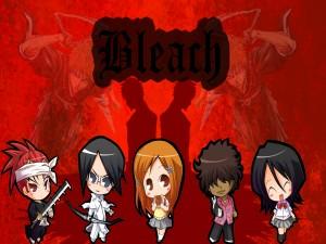 """Personajes chibi de """"Bleach"""""""