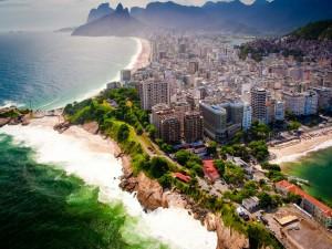 Vista panorámica de Río de Janeiro (Brasil)