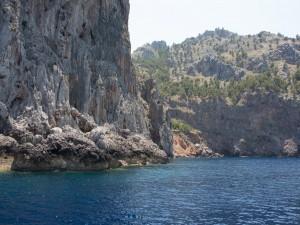 Costa norte de Mallorca (España)