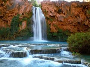 Cascadas Havasu (Reserva india de los Havasupai, Arizona)