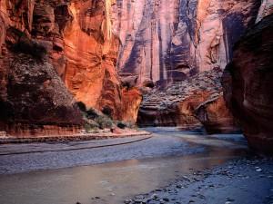 Río Paria (Cañón Paria, Utah)