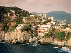 Acantilado La Quebrada (Acapulco, México)