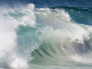 Ola en el océano