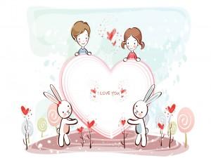 """Un corazón para ti """"Te quiero"""""""