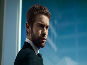 El actor Chace Crawford con barba