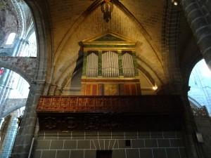 Interior de la Catedral de Avila