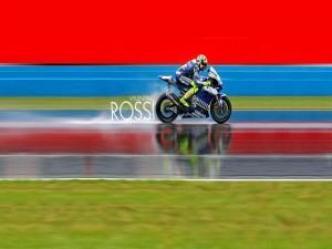Valentino Rossi sobre la moto
