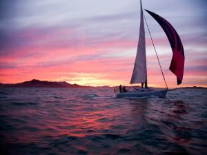 Viaje en barco en la bahía de San Francisco (Estados Unidos)