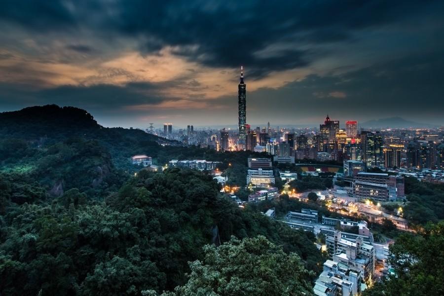 Taipéi al amanecer (Taiwán)