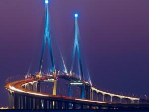 Impresionante puente en Corea del Sur