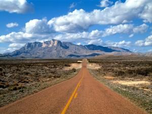 Carretera en Texas