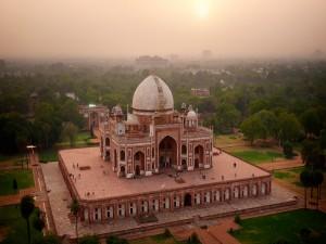 Hermoso palacio en la India