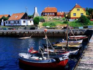 Gudhjem (isla de Bornholm, Dinamarca)