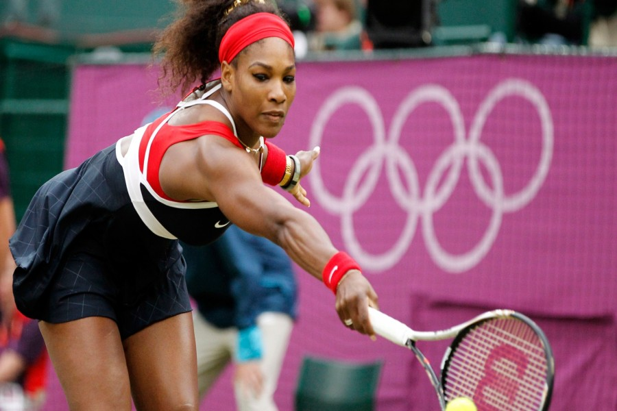 Serena Williams en los Juegos Olímpicos (Londres)