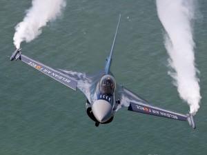 F-16 de la Fuerza Aérea belga