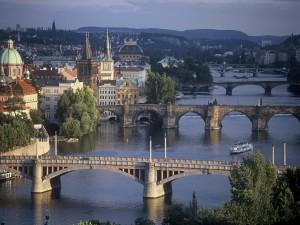 Puentes en Praga