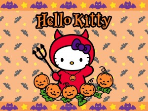 Hello Kitty en Halloween