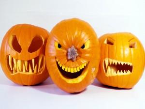 Calabazas talladas para Halloween