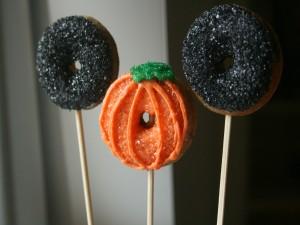 Donuts decorados para Halloween