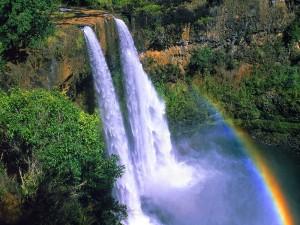 Cascadas Wailua (Kauai, Hawái)