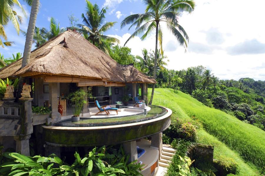 Hermosa casa en una colina