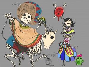 """Festejando el """"Día de Muertos"""""""