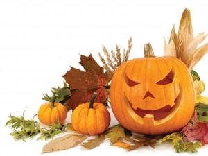Calabaza tallada para Halloween