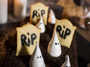 Fantasmas comestibles para Halloween