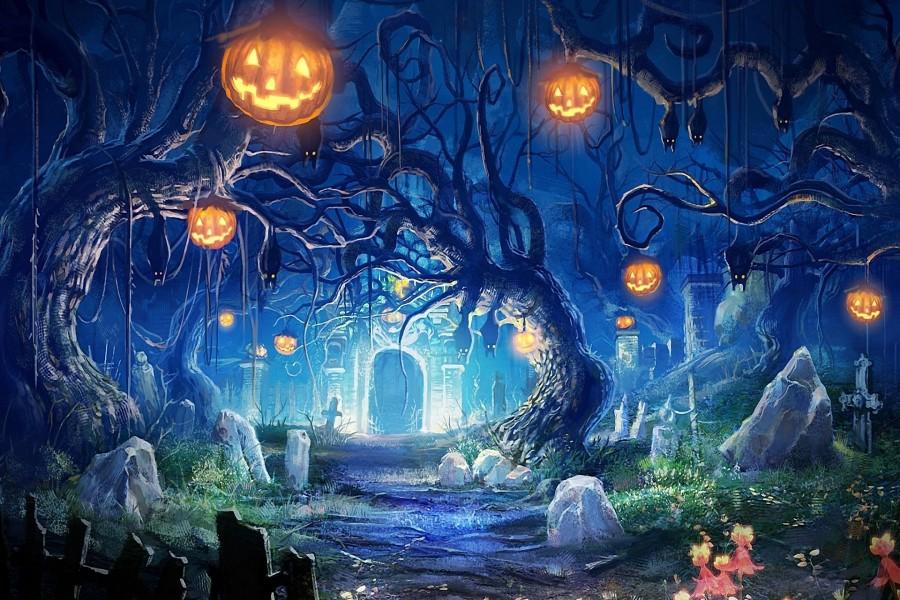 Halloween En El Cementerio (71226), Descarga A 1600x1280