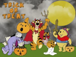 "Feliz Halloween con ""Winnie the Pooh"""