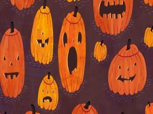 Dibujos de calabazas para Halloween