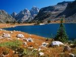 Lago Solitude (Parque Nacional de Grand Teton)