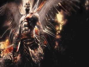 "Kratos, protagonista de ""God of War"""