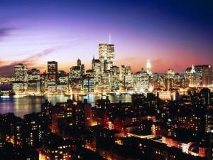 Nueva York iluminada