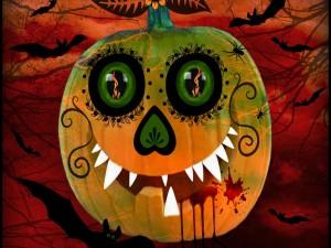 Una simpática calabaza para Halloween