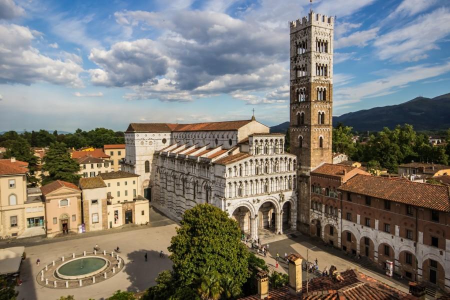 Plaza San Martín (Lucca, Toscana)