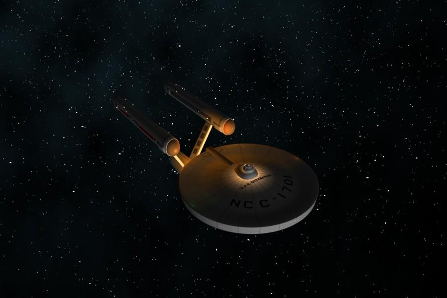 La USS Enterprise NCC-1701 ( Star Trek)