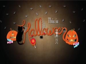 Fondo festivo para Halloween