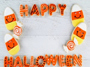 Galletas glaseadas para Halloween