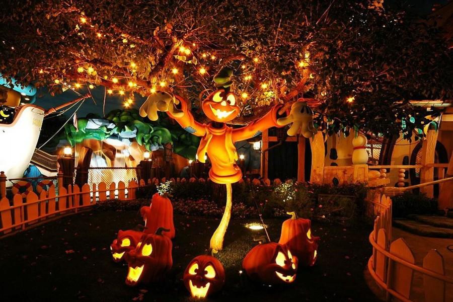 Una divertida decoración para Halloween
