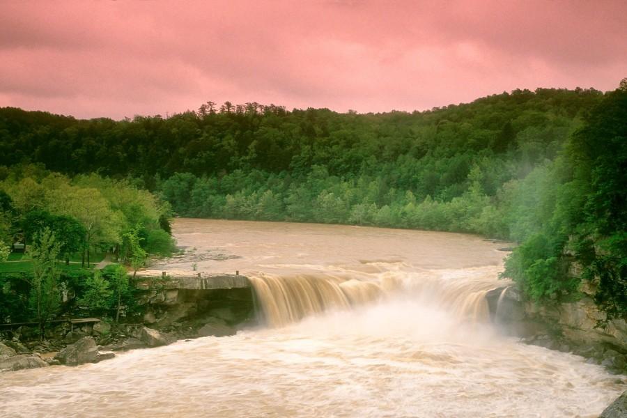 Un río caudaloso en Kentucky