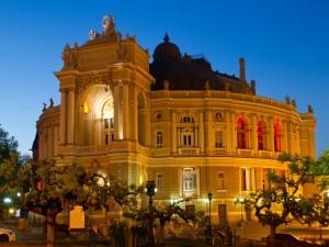 Teatro de Ópera y Ballet de Odesa (Ucrania)