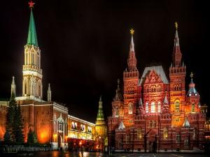 Noche en Moscú (Rusia )