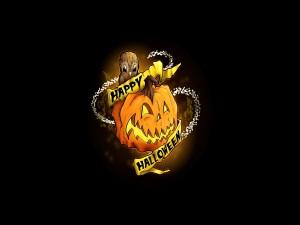 Un búho te desea ¡Feliz Halloween!